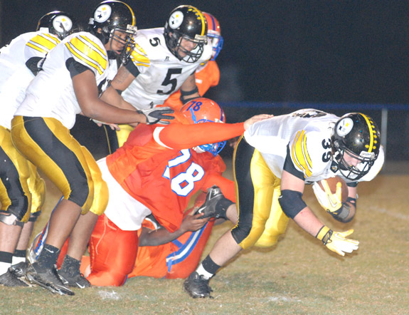 Roanoke Rapids Shuts Out Louisburg