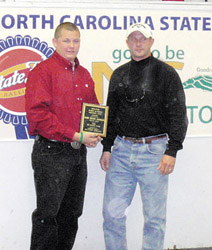 Speed Achievement Scholarship presented
