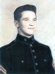Ceremony to honor marine killed during Korean conflict also a tribute to his family