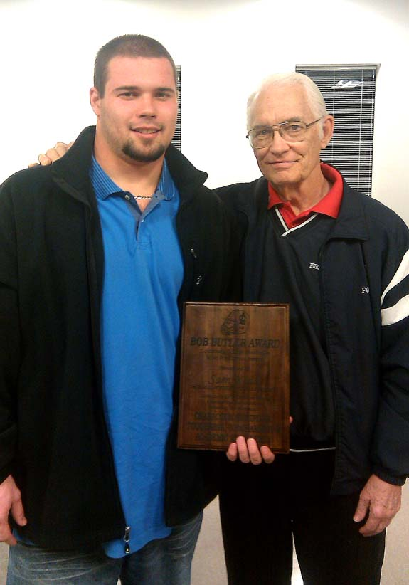 Kidd claims LC's Bob Butler Award