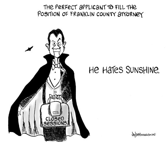 Editorial Cartoon: Bat-ton's Succesor