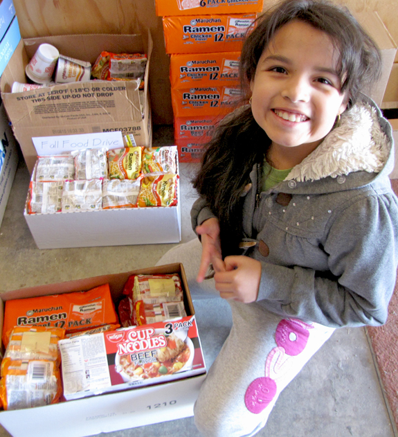 United Way Fall Food Drive helps supply 14 pantries with more than 26,000 items