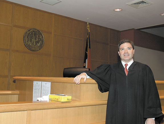 Area judges rank high in survey