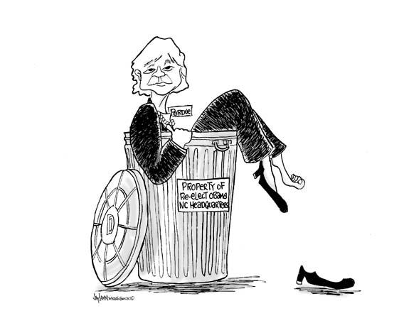 Editorial Cartoon:<br>Per-Done
