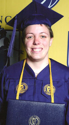 Williams graduates from UNC-Greensboro