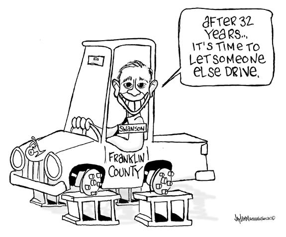 Editorial Cartoon: May be not