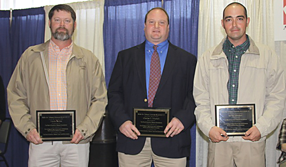 Three Franklin County men attend NC State tobacco short course