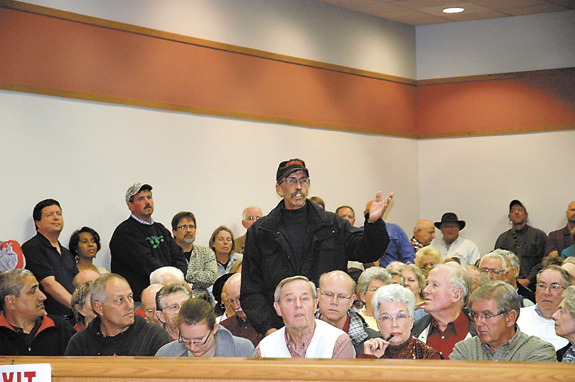 Residents resent revaluation
