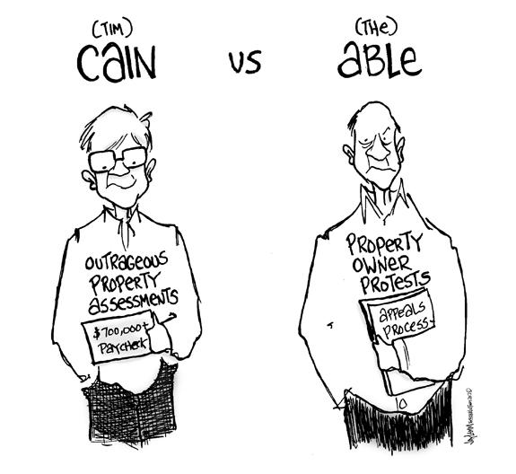 Editorial Cartoon: Cain-iac