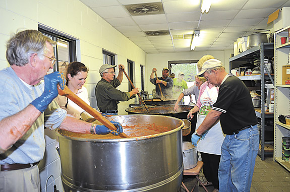 In a (Brunswick) stew for historical preservation