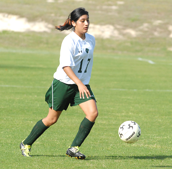 Bunn continues its girls soccer season