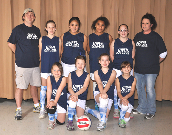 FRANKLIN COUNTY PARKS AND REC WINTER VOLLEYBALL 8-11 SUPER SERVERS