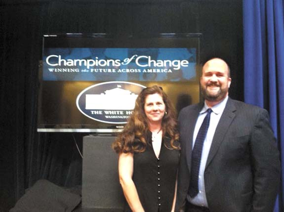 Farming family visits White House to receive honor for sustainable practices