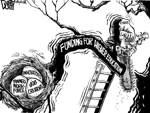 Editorial Cartoon: Education