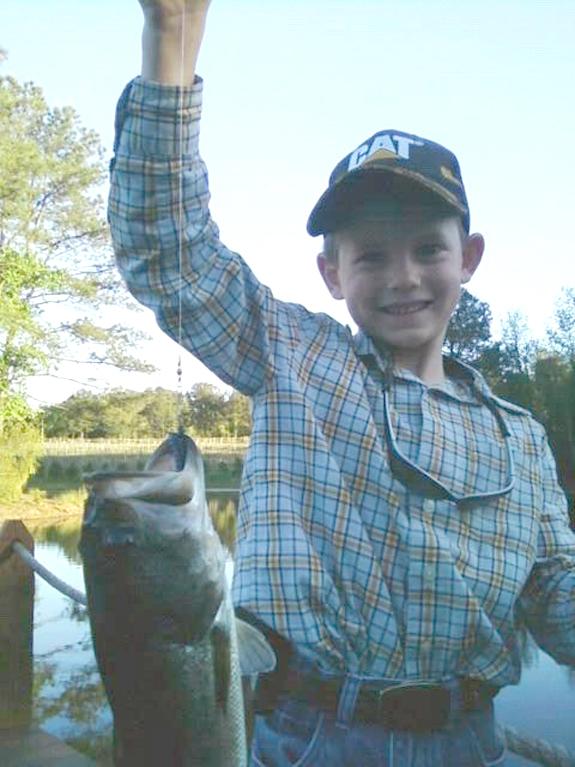 LANDON'S BIG FISH