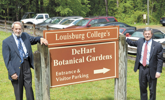 DeHart Gardens now part of Louisburg College