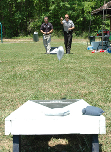 County employees picnic -- and play!
