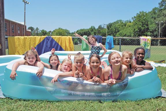 <i>Stayin' cool in the pool in record-setting heat!</i>