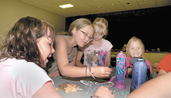 Friends, fun, crafts and more keep Girl Scouts busy