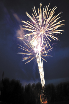 <i>Fireworks, fun and family highlight the Fourth</i>