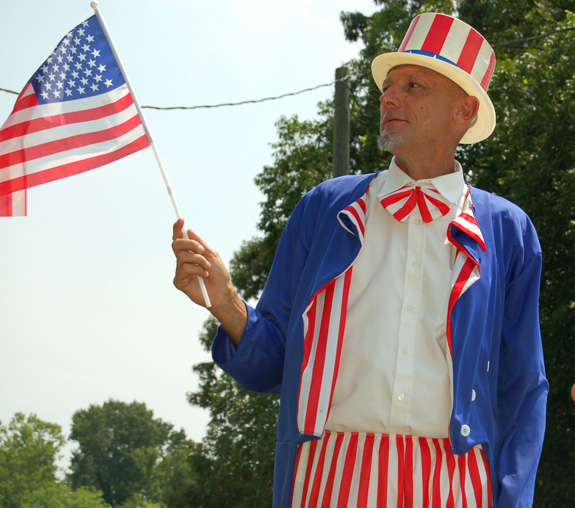 <i>If it's July in Alert it's time for a parade!</i>