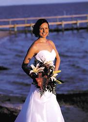 Jaclyn West, Aaron Bates are wed