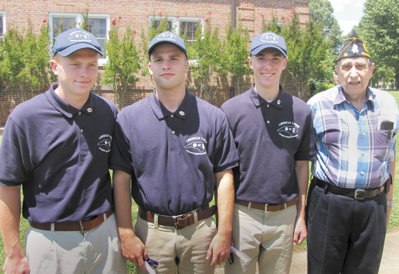 <i>Three Franklinton High students finish Legion's trooper program</i>
