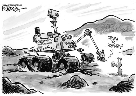 Editorial Cartoon: Curiosity