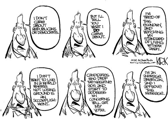 Editorial Cartoon: The Voter