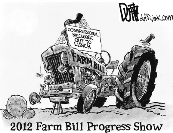 Editorial Cartoon: Farm Bill