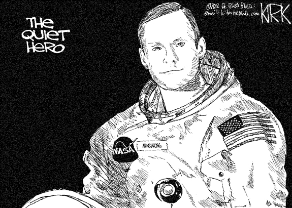 Editorial Cartoon: Quiet Hero