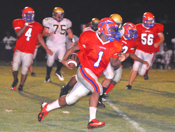 Louisburg Earns First Victory