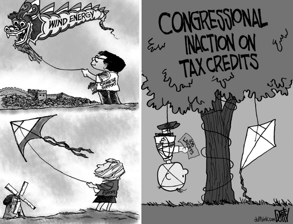 Editorial Cartoon: Tax Credits