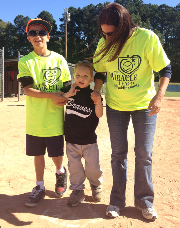 MIRACLE LEAGUE ACTION