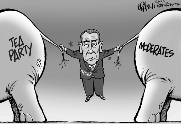Editorial Cartoon: Torn