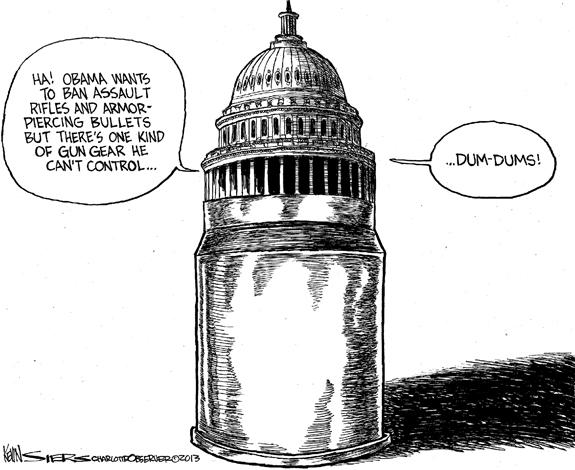 Editorial Cartoon: Dum-Dum's