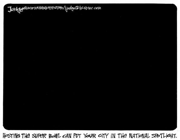 Editorial Cartoon: Lights Out