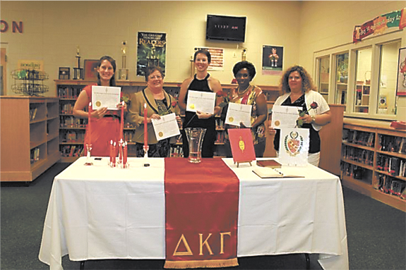 <i>Society for Women Educators inducts 5, plans awards banquet</i>