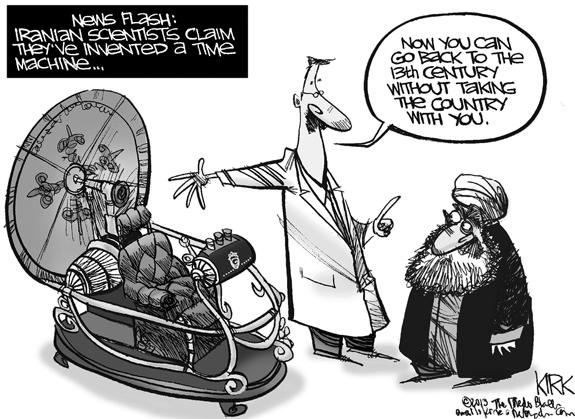 Editorial Cartoon: Time Machine