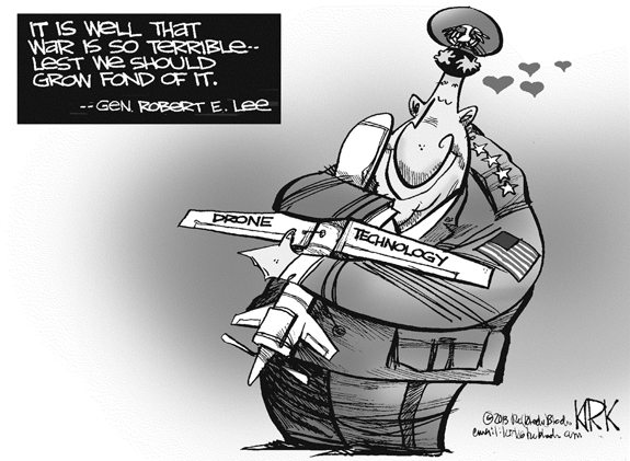 Editorial Cartoon: Drone Technology