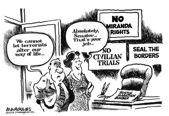 Editorial Cartoon: Terrorists