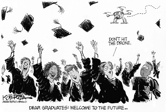 Editorial Cartoon: Welcome To The Future