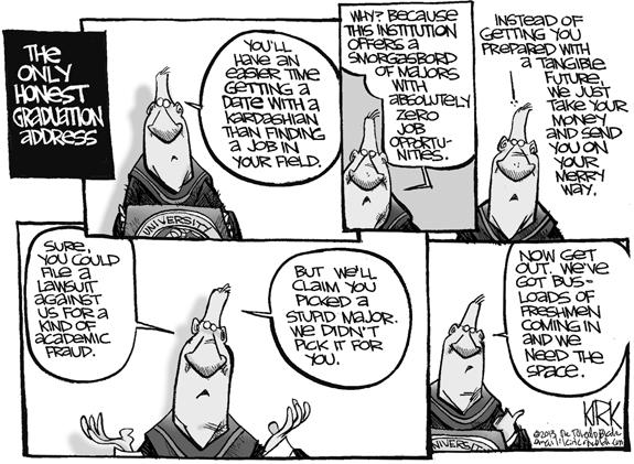 Editorial Cartoon: Honest Address