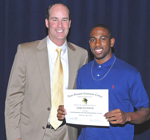 Vance-Granville CC salutes its athletes