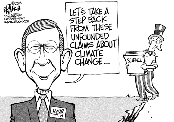 Editorial Cartoon: Climate Change