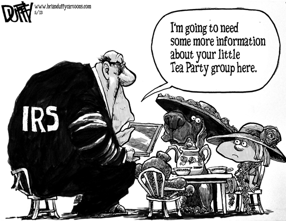 Editorial Cartoon: IRS