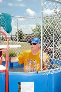 <i>Dunked for a cause!</i>