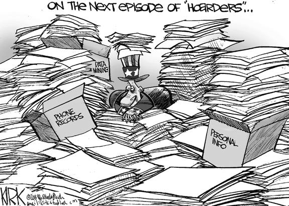 Editorial Cartoon: Hoarders