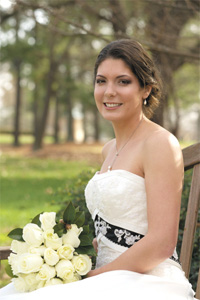 <i>Couple exchanges wedding vows at Meredith College</i>