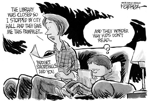 Editorial Cartoon: Budget
